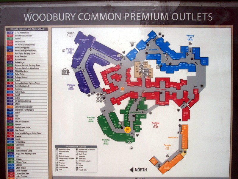 woodbury common premium outlets: a shopper's haven | i see bela